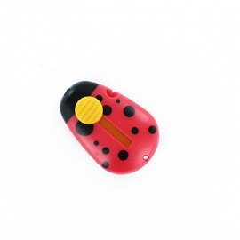Automatic ladybug needle threader - red