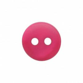 Origine polyester button - fuchsia
