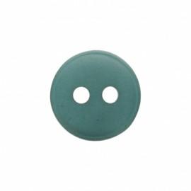 Bouton polyester aspect nacre Origine - vert pin