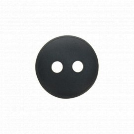 Bouton polyester aspect nacre Origine - anthracite