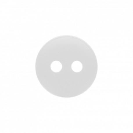 Alcalis polyester button - white