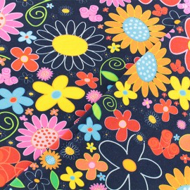 Tissu jersey Flower crush x 10cm