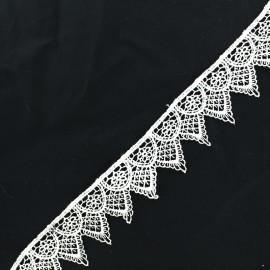 Lace guipure - white Ornato x 1m
