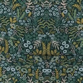 Tissu Cotton Steel - Menagerie - Challis Tapestry x 10cm