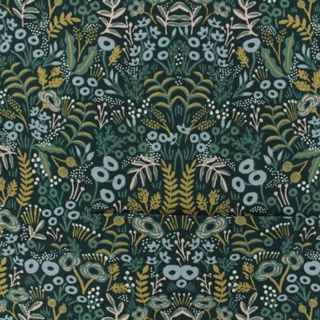 Tissu Cotton Steel - Menagerie - Challis Tapestry x 10cm