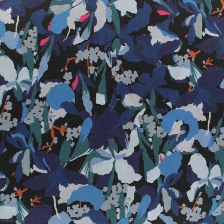 Tissu Liberty Camo Flower C x 10cm