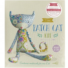 Kit Tilda Chat en patchwork