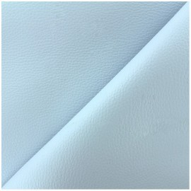 Imitation leather Karia - blue baby x 10cm