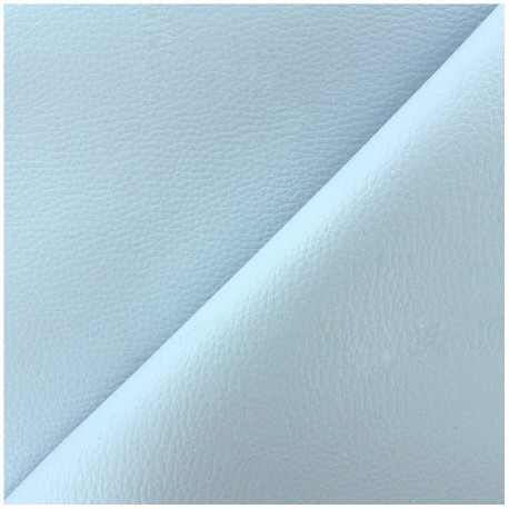 Imitation leather Karia - baby blue x 10cm