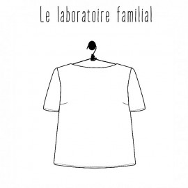 Top sewing pattern - Le laboratoire familial Marthe