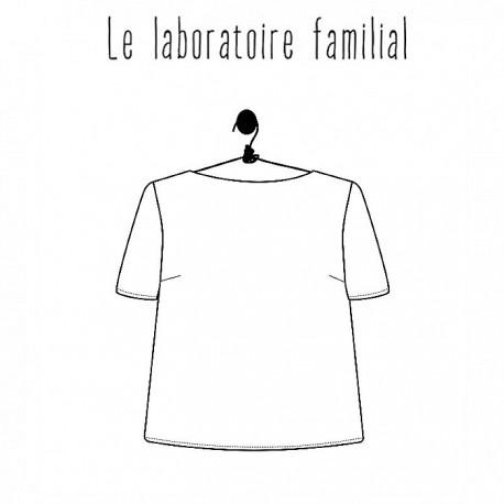 Patron Femme Le laboratoire familial top - Marthe