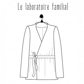 Blouse sewing pattern - Le laboratoire familial Margaret