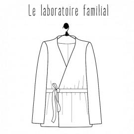 Patron Femme Le laboratoire familial blouse - Margaret