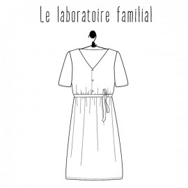 Dress sewing pattern - Le laboratoire familial Suzanne