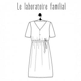 Patron Femme Le laboratoire familial robe - Suzanne