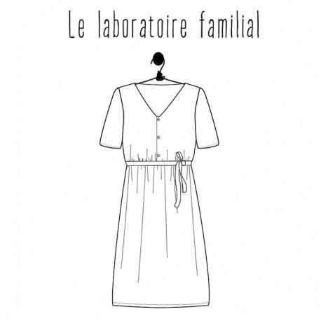 Dress sewing pattern - Le laboratoire familial Suzanne