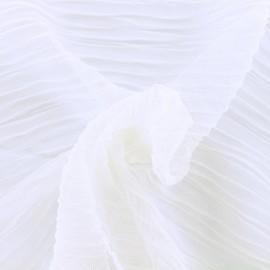 Tissu tulle plissé Lili - chantilly x 50 cm