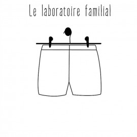 Short sewing pattern - Le laboratoire familial Hortense