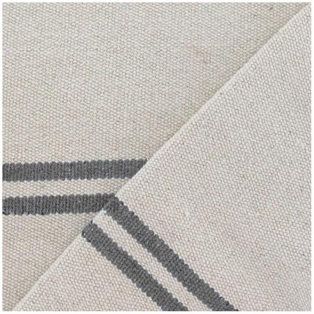 Woven Cotton Fabric - Joséphine grey x 10cm