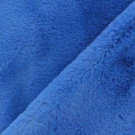 Fourrure Castorini - bleu royal x 10cm