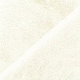Faux fur fabric - ecru Castorini x 10cm