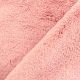 Fourrure Castorini - vieux rose x 10cm