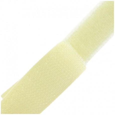 Self gripping Sew-on tape 20 mm - ecru