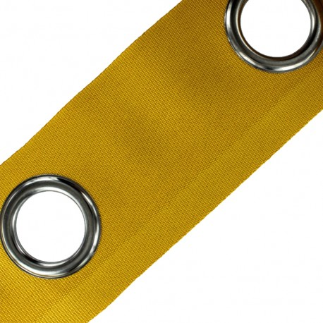 To sew color eyelet tape grun barrel - turmeric x 18cm