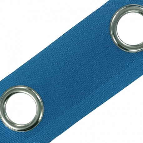 To sew color eyelet tape - petrol x 18cm