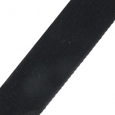 Sangle coton noire