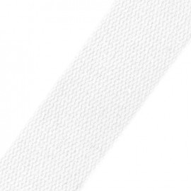 Cotton strap - white