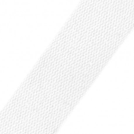 Sangle coton blanche