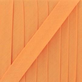 Biais Tout Textile mandarine 20 mm