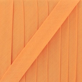 Multi-purpose-fabric Bias binding 20mm - mandarin