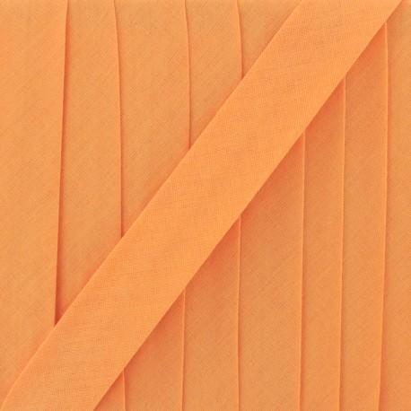 Multi-purpose-fabric Bias binding 20mm - mandarin