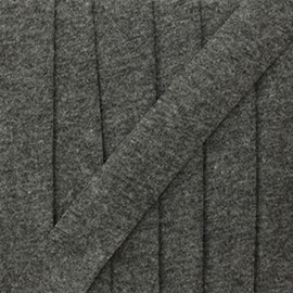 Biais jersey gris clair