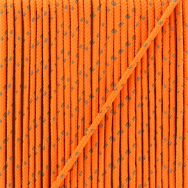 3 mm reflective cord - orange Sport