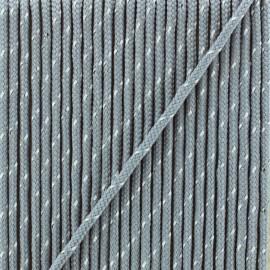 3 mm reflective cord - grey Sport