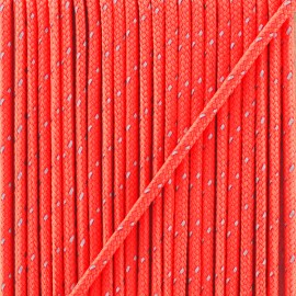 3 mm reflective cord - neon pink Sport