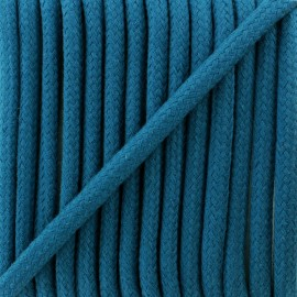 Braided cord 8 mm - petrol blue Amana x 1m