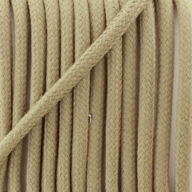 Braided cord 8 mm - tan Amana x 1m
