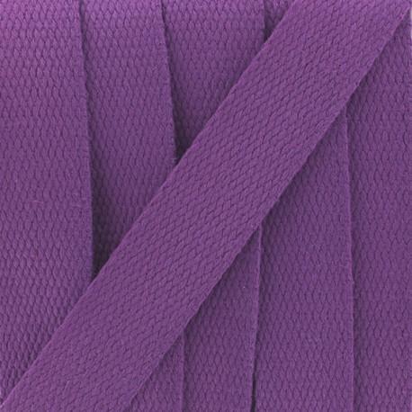 Sangle coton violet