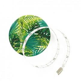 Mètre ruban enrouleur Bohin - Feuille palmier