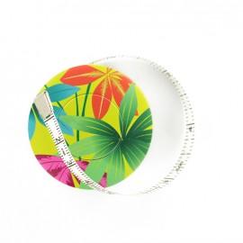Bohin retractable measure tape - Pretty leave