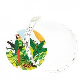 Mètre ruban enrouleur Bohin - Perroquet vert