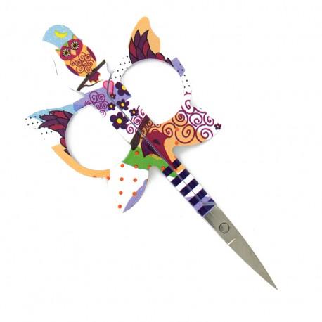 11 cm Bohin embroidery scissors - multi Owl