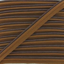 Passepoil bicolore chocolat