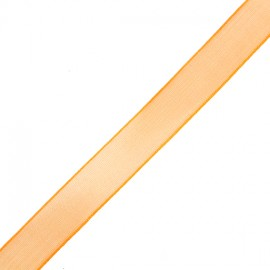 Organza ribbon 10 mm - orange