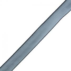 Organza ribbon 10 mm - black