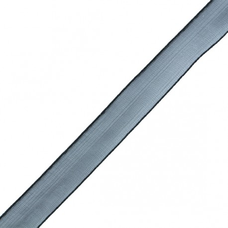 Organza ribbon 3 mm - black